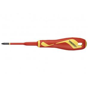 Teng Tools Skruetrækker til Pozidriv krydskærv PZ1-80 - 245610100