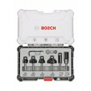 Bosch Bitsæt til Trim and Edging-fræsejern, 6 dele 8mm - 2607017469