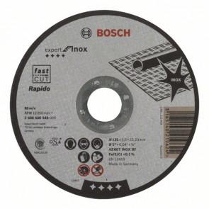 Bosch Lige skæreskive 125x1,0 MM AS 60 T INOX BF