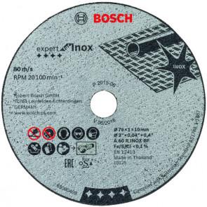 Bosch skæreskive 76x1,0x10 x 5 stk. - 2608601520