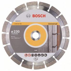 Bosch Diamantskæreskive universal 230x22,23mm - 2608602568