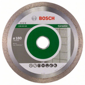 Bosch Diamantskæreskive til keramik 180 x 25,4mm - 2608602635