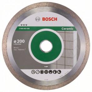 Bosch Diamantskæreskive til keramik 200x25,4mm - 2608602636