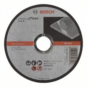 Bosch Skæreskive WA 60 T BF Rapido Standard for Inox 125x22,23 mm - 2608603172