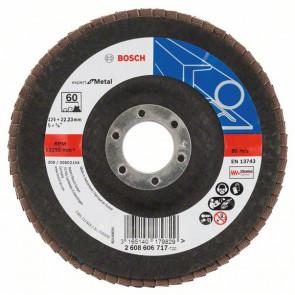 Bosch Lamelslibeskive skrå K60 X551 Expert for Metal 125x22mm - 2608606717