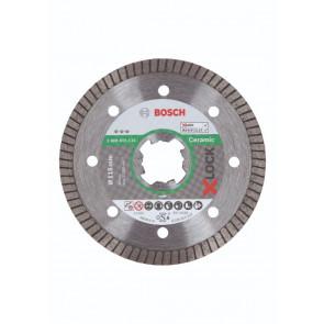 Bosch X-LOCK Best for Ceramic Extra Clean Turbo-diamantskæreskive, 115 x 22,23 x 1,4 x 7 - 2608615131