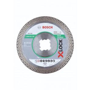 Bosch X-LOCK Best for Hard Ceramic-diamantskæreskive, 125x22,23x1,4x10 - 2608615135
