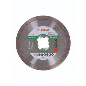 Bosch X-LOCK Standard for Ceramic-diamantskæreskive, 115 x 22,23 x 1,6 x 7 - 2608615137