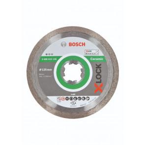 Bosch X-LOCK Standard for Ceramic-diamantskæreskive, 125x22,23x1,6x7. - 2608615138