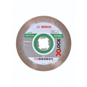 Bosch X-LOCK Best for Ceramic-diamantskæreskiver 125mm - 2608615164