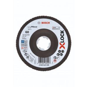 Bosch X-LOCK X571 Best for Metal-lamelslibeskive skrå 115mm K60 - 2608619198