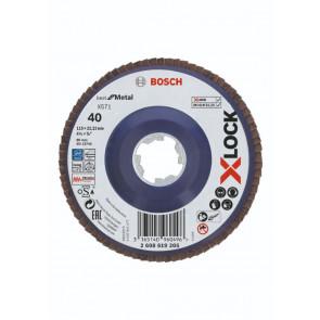 Bosch X-LOCK X571 Best for Metal-lamelslibeskive flad 115mm K40 - 2608619205