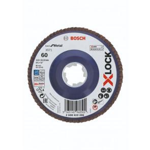 Bosch X-LOCK X571 Best for Metal-lamelslibeskive flad 115mm K60 - 2608619206