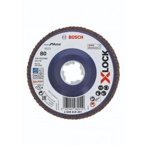 Bosch X-LOCK X571 Best for Metal-lamelslibeskive flad 115mm K80 - 2608619207