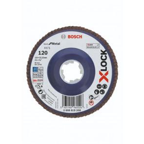 Bosch X-LOCK X571 Best for Metal-lamelslibeskive flad 115mm K120 - 2608619208