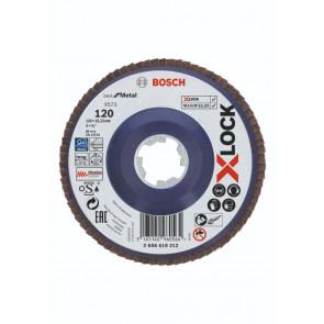 Bosch X-LOCK X571 Best for Metal-lamelslibeskive flad 125mm K120 - 2608619212