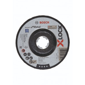 Bosch X-LOCK Expert for Metal-slibeskive 125 x 22,2 x 6mm - 2608619259