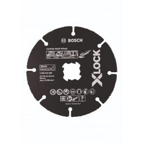 Bosch X-LOCK Carbide Multi Wheel-skæreskive HM 125 x 22,23mm - 2608619284