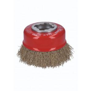 X-LOCK Clean for Metal-kopbørste, bølget tråd, messingbelagt 0,3 x 75mm - 2608620730