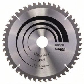 Bosch rundsavklinge Ø210 x 30mm 48T -5GR - 2608640430