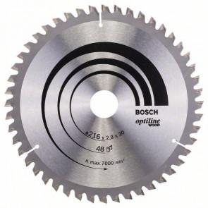 Bosch kap & gerringsavklinge 216 x 2,8 x 30mm 48T - 2608640641