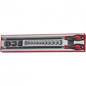 Teng Tools skruetrækkerskaftsæt 41 dele TTXMD41N 263040107