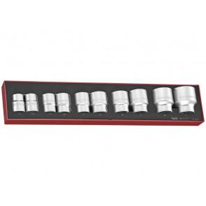 """Teng Tools topnøglesæt 3/4"""" TEX3410 med 10 toppe 22-50mm - 263100109"""