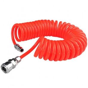 Grunda Trykluft Spiralslange PU 6,5x10mm 4m   - 267810109