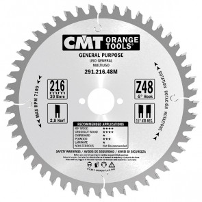 CMT HM rundsavklinge 230x2,8x30mm Z36 W - 291.230.36M