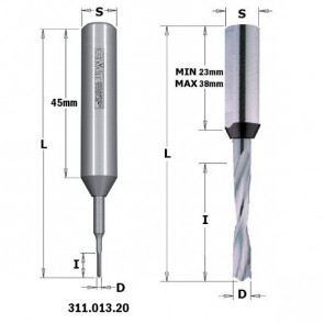 CMT Dyvelbor HM 3x18/70 K10 H xt - 311.030.21