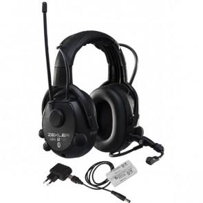 ZEKLER Høreværn 412RDB inkl. batteri og oplader - 380682200
