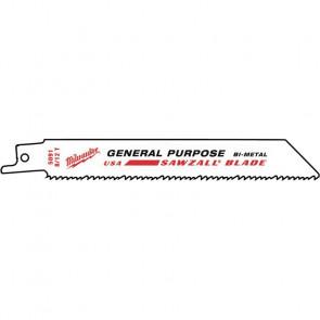 Milwaukee Sawzall® bajonetsavklinger 150/TPI 8/12 - 48005091