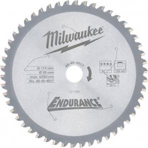 Milwaukee Rundsavklinge Metal 174/20/50T - 48404017