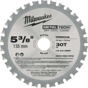 Milwaukee Rundsavklinge Metal 135/20/30T - 48404070