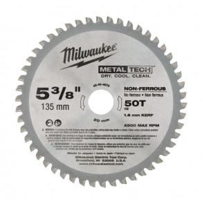Milwaukee Rundsavklinge Metal 135/20/50T - 48404075