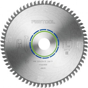 Festool Special-savklinge 225x2,6x30 TF68 488291