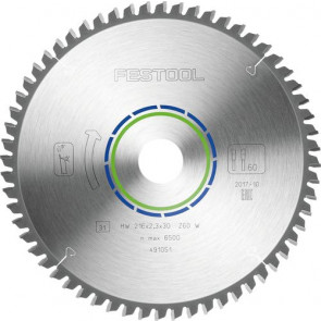 Festool Rundsavklinge (216x2,3x30) W60 ALU