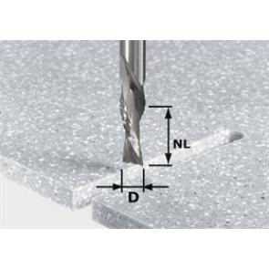 Festool spiralnotfræser HW, skaft 12 mm 492656