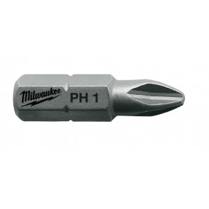 Milwaukee Bits PH1 x 25mm 25P - 4932399586