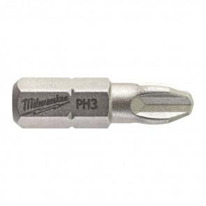 Milwaukee Bits PH3 x 25mm 25P - 4932399588