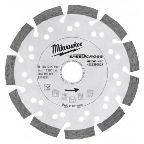 Milwaukee Diamantskive Hudd 150x22,2 - 4932399821