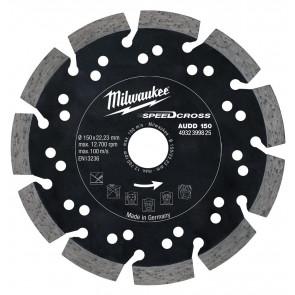Milwaukee Diamantskive audd 150x22,2 - 4932399825