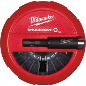 Milwaukee Bitssæt Shockwave Puck CD15P - 4932430904