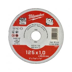 Milwaukee Skæreskive Metal STD 125x1 mm 200 stk - 4932451478