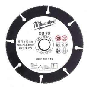 Milwaukee Karbid Skive 76/10mm 4932464716