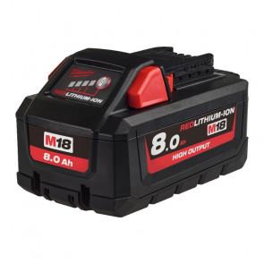 Milwaukee batteri M18 HB8 HO Red Lithium-Ion 18V 8,0Ah - 4932471070