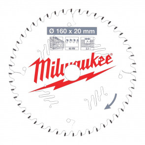 Milwaukee Rundsavklinge W160x20x2,2x48 - 4932471291