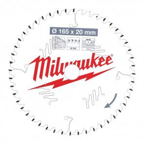 Milwaukee Rundsavklinge W165x20x2,2x48 - 4932471295