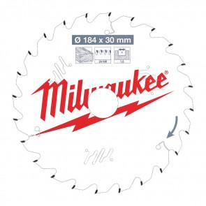 Milwaukee Rundsavklinge W184x30x1,6x24 - 4932471297
