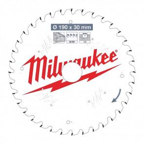 Milwaukee Rundsavklinge W190x30x1,6x36 - 4932471301